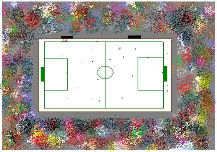 Tableau de la coupe de monde de foot sur glace