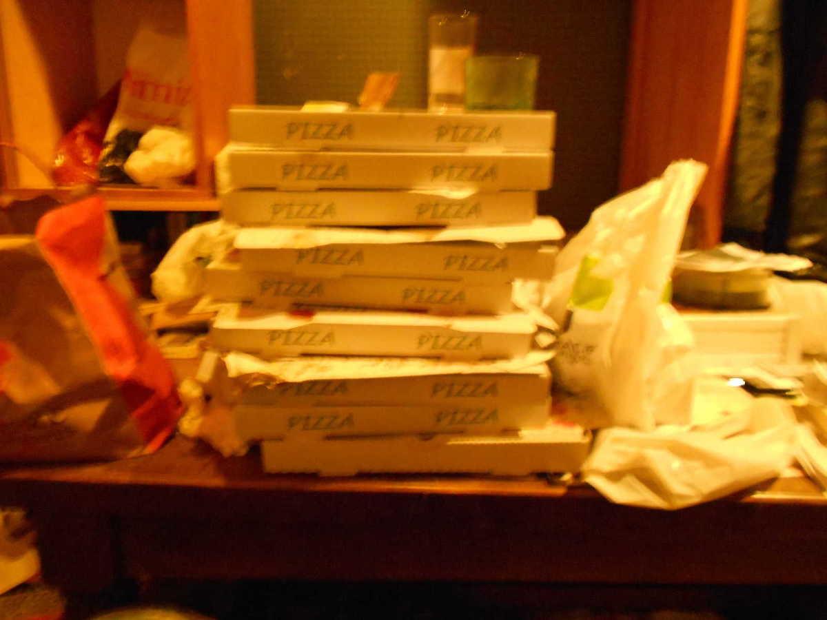 Je Mange Trop De Pizzas