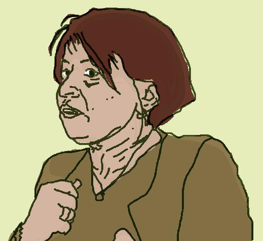 Louise Internacia, percussionniste