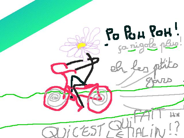 marguerite-fait-du-vélo